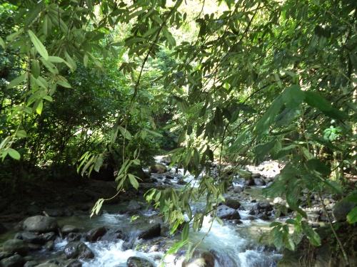 El Burrito River, La Finca Ponderoso, San Framcisco Penas Blancas